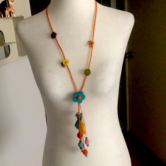Fabric Hand made necklaces